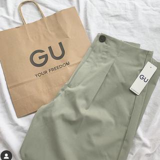 GU - タックコクーンシルエットパンツ