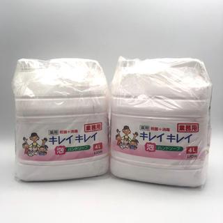 LION - 業務用 キレイキレイ 薬用泡ハンドソープ(4L) 2セット