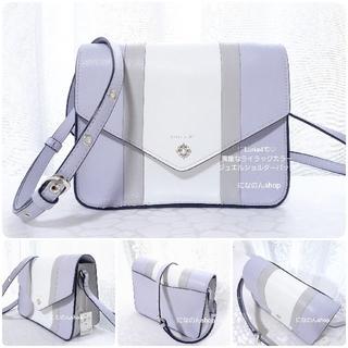 4℃ - 新品未使用 ルリア4℃ 人気デザインのショルダーバッグ 綺麗なライラック