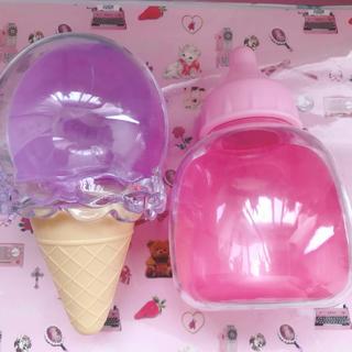 スイマー(SWIMMER)のスイマー SWIMMER 小物入れ ピンク 紫 パープル 哺乳瓶 アイスクリーム(小物入れ)