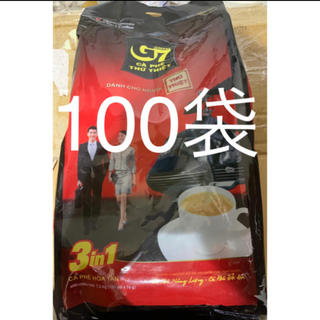 TRUNG NGUYEN G7 COFFEE 3in1 100袋(コーヒー)