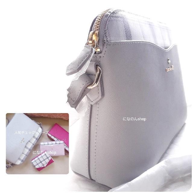 4℃(ヨンドシー)の新品未使用 ルリア4℃ 人気デザイン ショルダーバッグ シックなチェックカラー レディースのバッグ(ショルダーバッグ)の商品写真