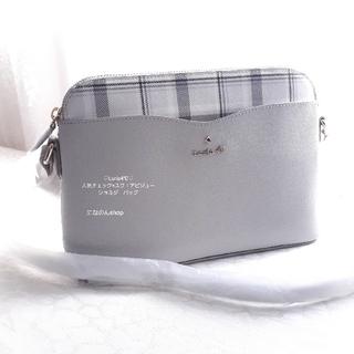 4℃ - 新品未使用 ルリア4℃ 人気デザイン ショルダーバッグ シックなチェックカラー