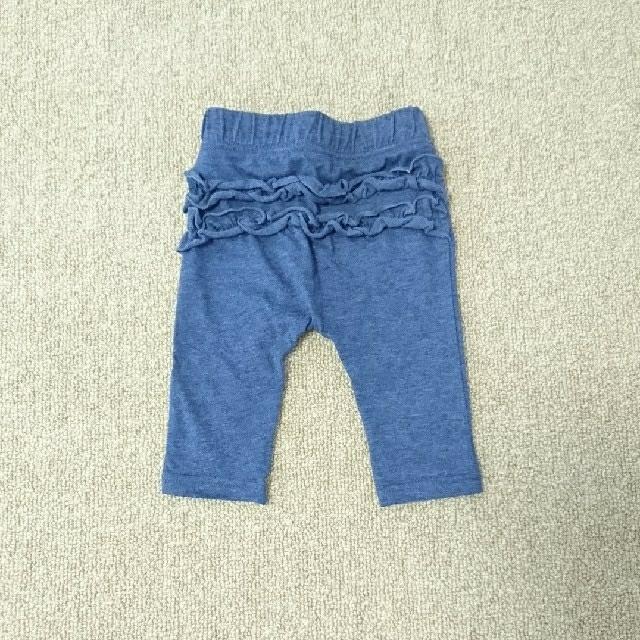 しまむら(シマムラ)のパンツ スパッツ 80 2枚セット キッズ/ベビー/マタニティのベビー服(~85cm)(パンツ)の商品写真