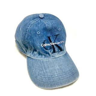 Calvin Klein - ck CalvinKlein カルバンクライン デニム CAP キャップ 帽子