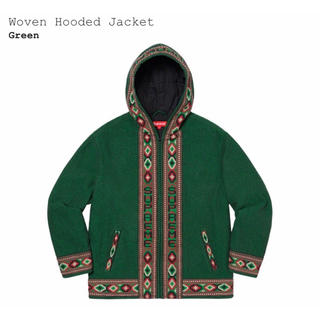 Supreme - 【S】Supreme Woven Hooded Jakcet Green