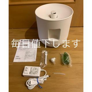 MUJI (無印良品) - 無印良品 超音波アロマディフューザー・大 加湿器 MJ-ADB1 超音波式加湿器
