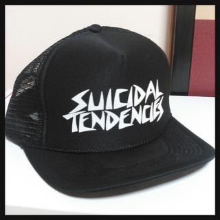 スイサダルテンデンシーズ(SUICIDAL TENDENCIES)のメッシュキャップ(キャップ)