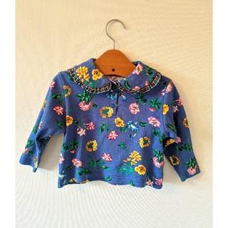 ケンゾー(KENZO)のKENZO レトロ花柄ブラウス90(Tシャツ/カットソー)