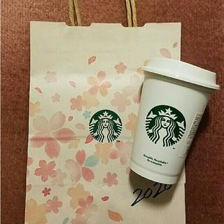 スターバックスコーヒー(Starbucks Coffee)の紙袋付 ☆ スターバックス リユーザブルカップ STARBUCKS COFFEE(タンブラー)