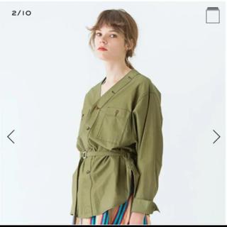 TOMORROWLAND - 美品‼︎トゥモローランド ミリタリーシャツ