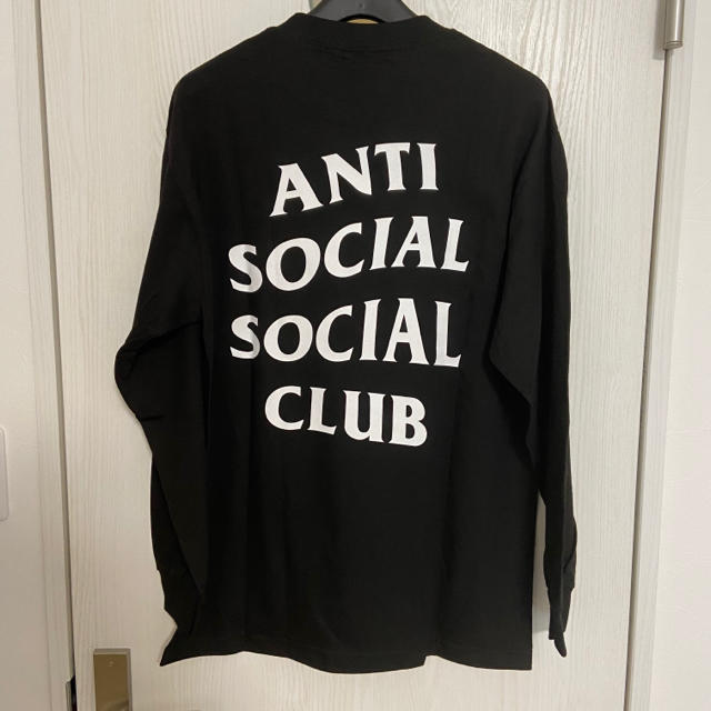 ANTI(アンチ)のANTI SOCIAL SOCIAL CLUB ロンT サイズM メンズのトップス(Tシャツ/カットソー(七分/長袖))の商品写真