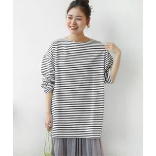JOURNAL STANDARD - BIGシルエットボーダーTシャツ◆ジャーナルスタンダードレリューム