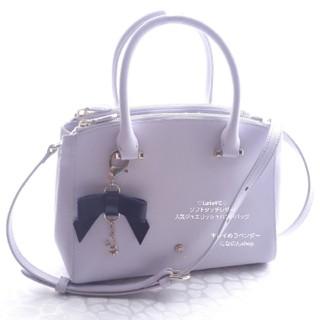 4℃ - 新品未使用 ルリア4℃ キレイめパステルラベンダー♡ソフトタッチの優しいバッグ