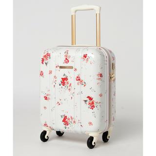 MERCURYDUO - マーキュリーデュオ キャリーケース スーツケース ホワイト 花柄 機内持ち込み