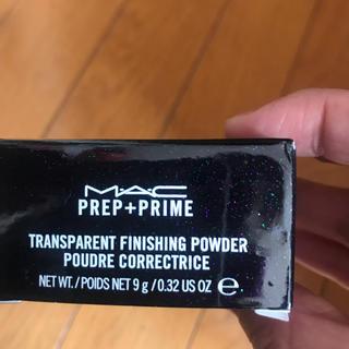 マック(MAC)のMAC マック プレップ プライム トランスペアレント フィニッシングパウダー (フェイスパウダー)