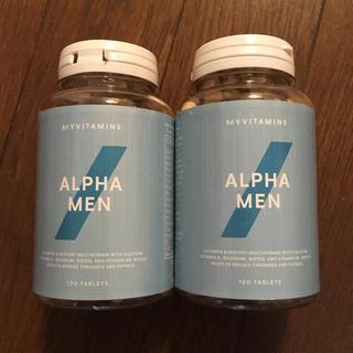マイプロテイン(MYPROTEIN)の【2個セット】アルファメン 120錠(ビタミン)