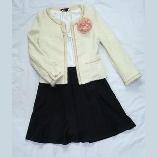 エニィスィス(anySiS)の日本製 スーツ 入学式 フォーマル スカート セット 入園式(スーツ)