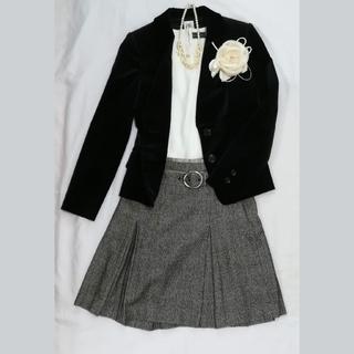 ミッシェルクラン(MICHEL KLEIN)の日本製 スーツ 入学式 フォーマル スカート2点 セット 入園式(スーツ)