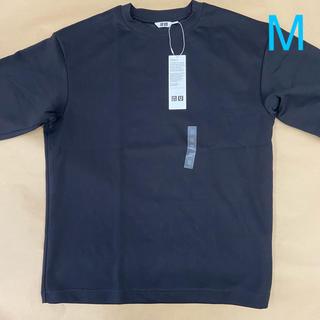 ユニクロ(UNIQLO)のエアリズムコットン オーバーサイズtシャツ Mサイズ (Tシャツ/カットソー(半袖/袖なし))