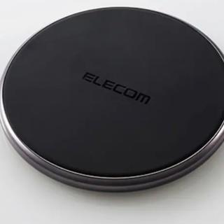 ELECOM - 【新品】ワイヤレス充電機 iPhone Android Wireless