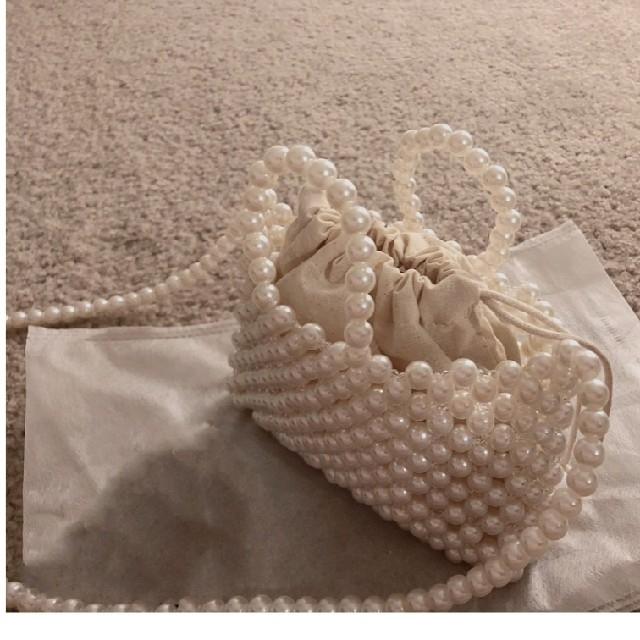 dholic(ディーホリック)のパール ミニバッグ ショルダー レディースのバッグ(ハンドバッグ)の商品写真