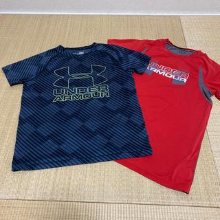 UNDER ARMOUR - アンダーアーマー  Tシャツ2枚セット 150  160