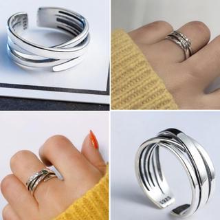 トゥデイフル(TODAYFUL)の高品質シルバーリングS925(リング(指輪))