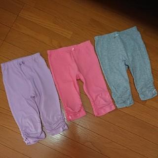 motherways - マザウェイズ レギンス スパッツ パンツ サイズ104 裾くしゅくしゅリボン
