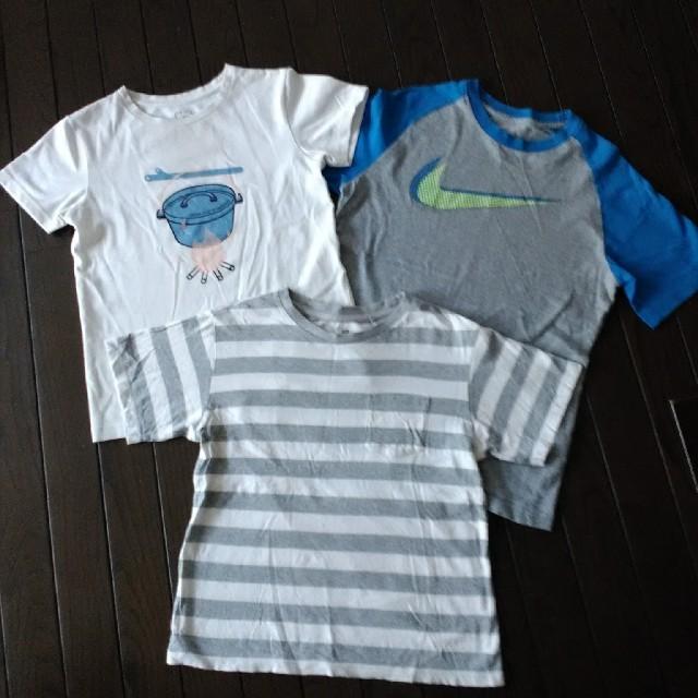 NIKE(ナイキ)の140 男の子 服 Tシャツ セット  キッズ/ベビー/マタニティのキッズ服男の子用(90cm~)(その他)の商品写真