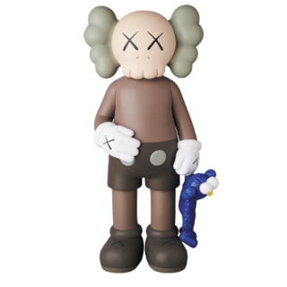 MEDICOM TOY - KAWS SHARE BROWN