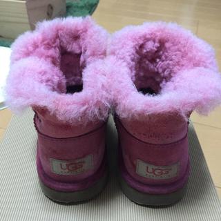 アグ(UGG)のUGG☆ピンクムートン(ブーツ)