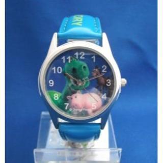 ディズニー(Disney)のトイストーリー腕時計BL-ハム、レックス、ブルズアイリストウォッチ(腕時計)