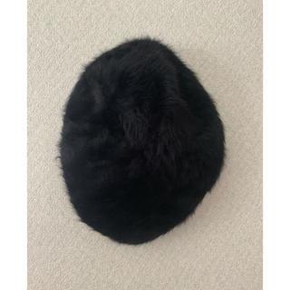 ジーナシス(JEANASIS)のJEANASISファーベレー帽(ハンチング/ベレー帽)