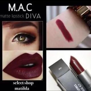 マック(MAC)のMAC 口紅 ディーバ(口紅)