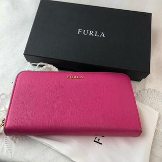 Furla - ❤セール❤ フルラ 財布 長財布 サフィアーノ レザー 本革 レディース ピンク