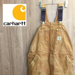 carhartt - 【激レア】carhartt カーハート☆ダック オーバーオール 90s