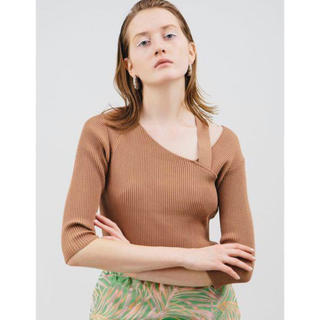 BEAUTY&YOUTH UNITED ARROWS - 美品 ELENDEEK エレンディーク リブニット カットソー