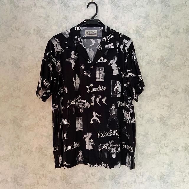 WACKO MARIA(ワコマリア)の極美品 WACKOMARIA ロカビリー アロハシャツ メンズのトップス(シャツ)の商品写真