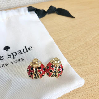 kate spade new york - ケイトスペード  レディバグピアス