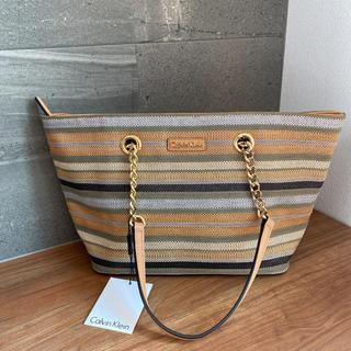 Calvin Klein - カルバンクライン☆メッシュサマートートバッグ・ショルダーバッグ