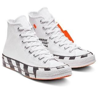 CONVERSE - 新品 Off White x Converse Chuck 70 23cm