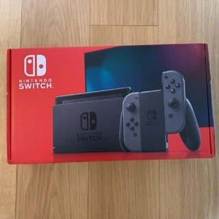 ニンテンドースイッチ(Nintendo Switch)の新型 ニンテンドースイッチ グレー(家庭用ゲーム機本体)