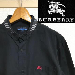 BURBERRY - 希少!BURBERRY バーバリー ホースマーク バーバリー柄テープシャツ