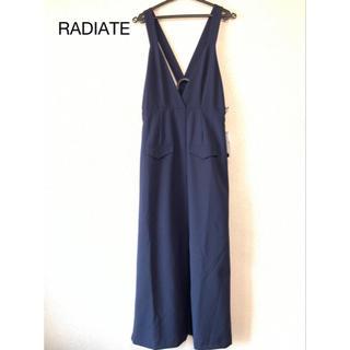 SCOT CLUB - 定価17,000円RADIATE紺色ロングジャンパースカート
