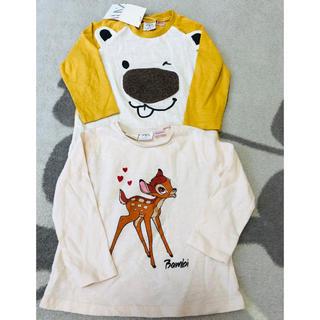 ZARA KIDS - 新品タグ付き ZARABABY 長袖Tシャツ 2枚組 ロンT バンビ