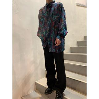 TOGA - 90's lN PRIVATE シルクシャツ