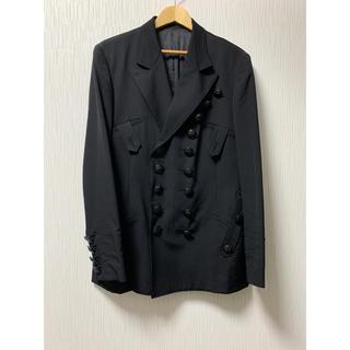 Yohji Yamamoto - yohji yamamoto pour homme 19aw 黒ボタンジャケット