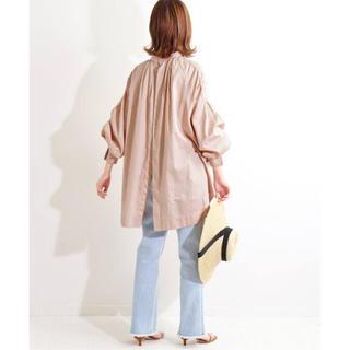IENA - 【新品 タグ付き】IENA LA BOUCLE コーマサテン スモックシャツ