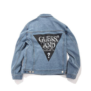 GUESS - GUESS×WIND AND SEA OVERSIZE DEINM JACKET